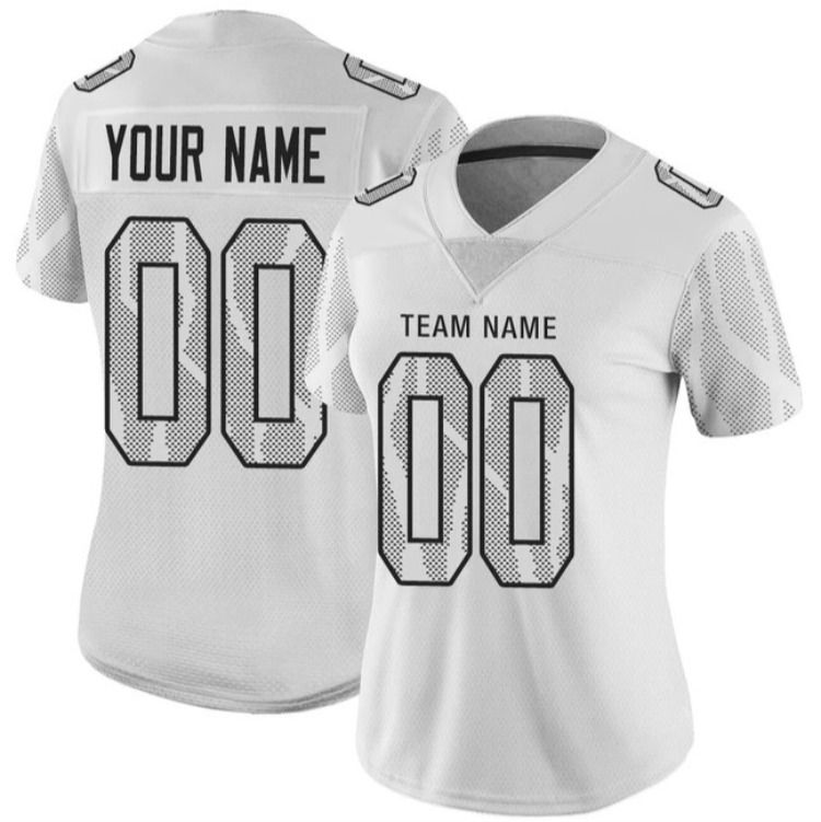 From $24.99 Custom White City Edition Football Jersey Printed ...