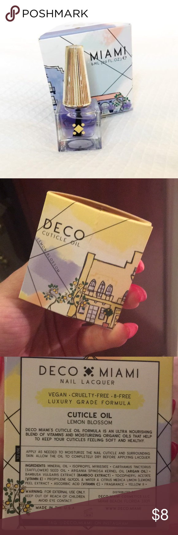 Free Add On W/Bundle Deco Cuticle Oil Brand New Free Add