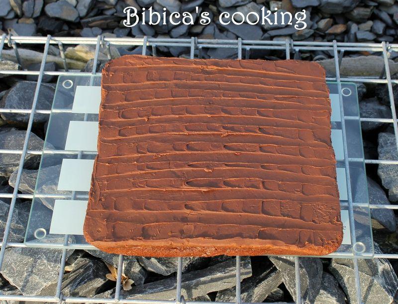 Le gâteau au chocolat et mascarpone de Cyril Lignac haut