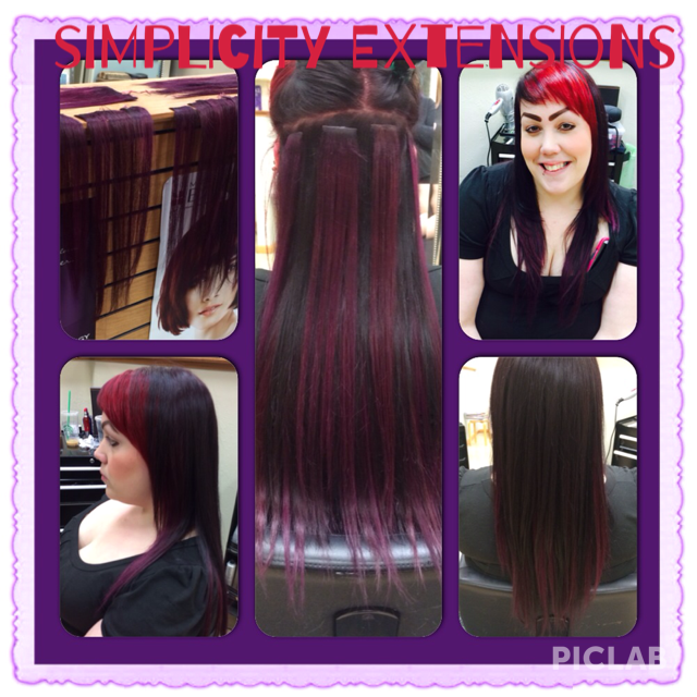 Simplicity Tape In Hair Extensions By Stylisteducator Brittany