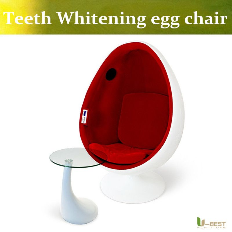 High Quality U BEST Teeth Whiten Clinic Egg Chair,Speaker Egg Chair With A 5.1 Surround