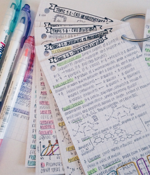 15 Articles To Help Organize Your Home For The New Year: 15 Genius Tips For Taking Organized Notes