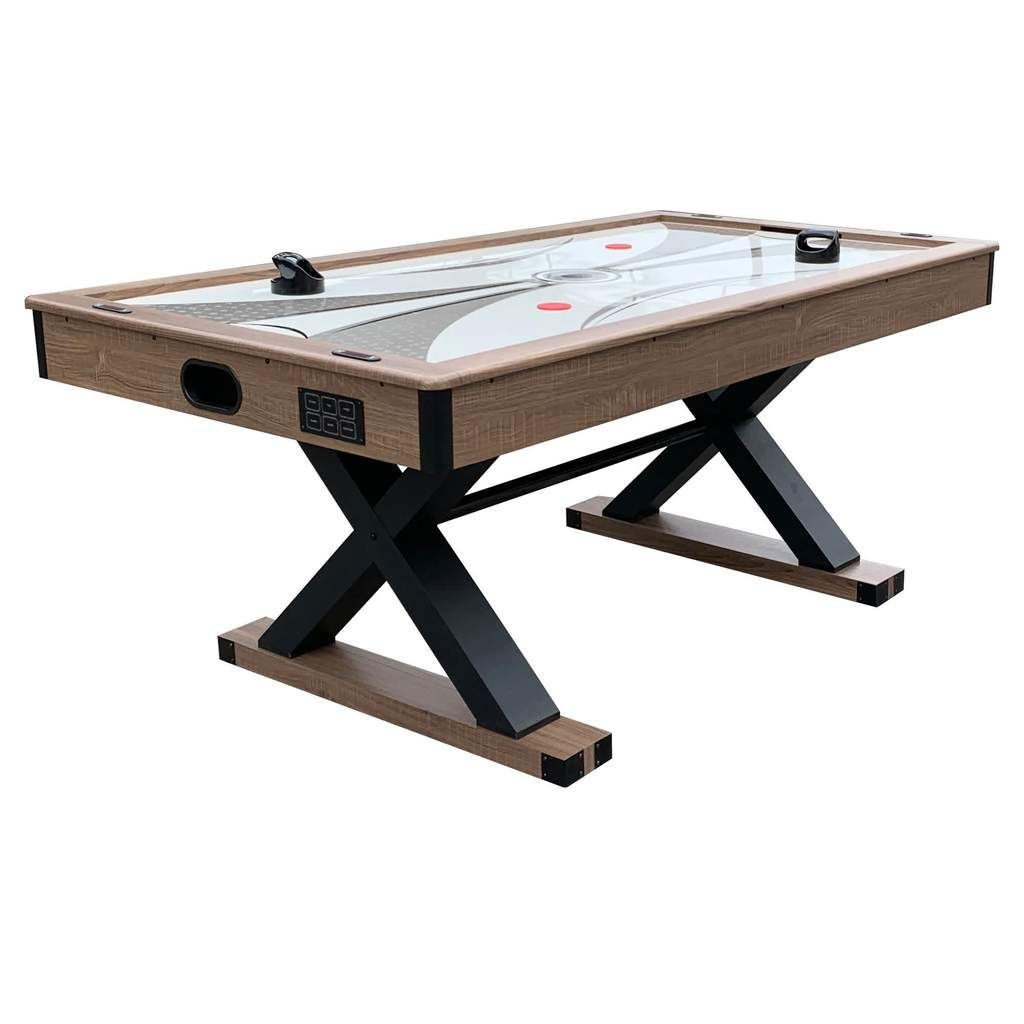 Excalibur 6 Ft Air Hockey Table With Table Tennis Top In 2020 Air Hockey Table Air Hockey Table Tennis