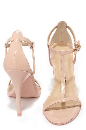 a2555bbbf420e Chinese Laundry Leo Soft Pink Patent T Strap Dress Sandals