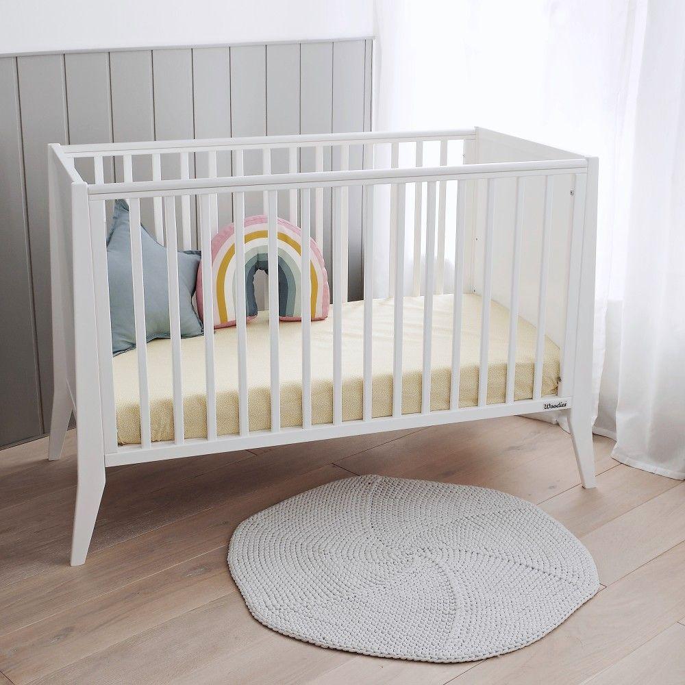 Lozeczko Niemowlece Slim Cot 120x60 Woodies Cot Cribs Decor