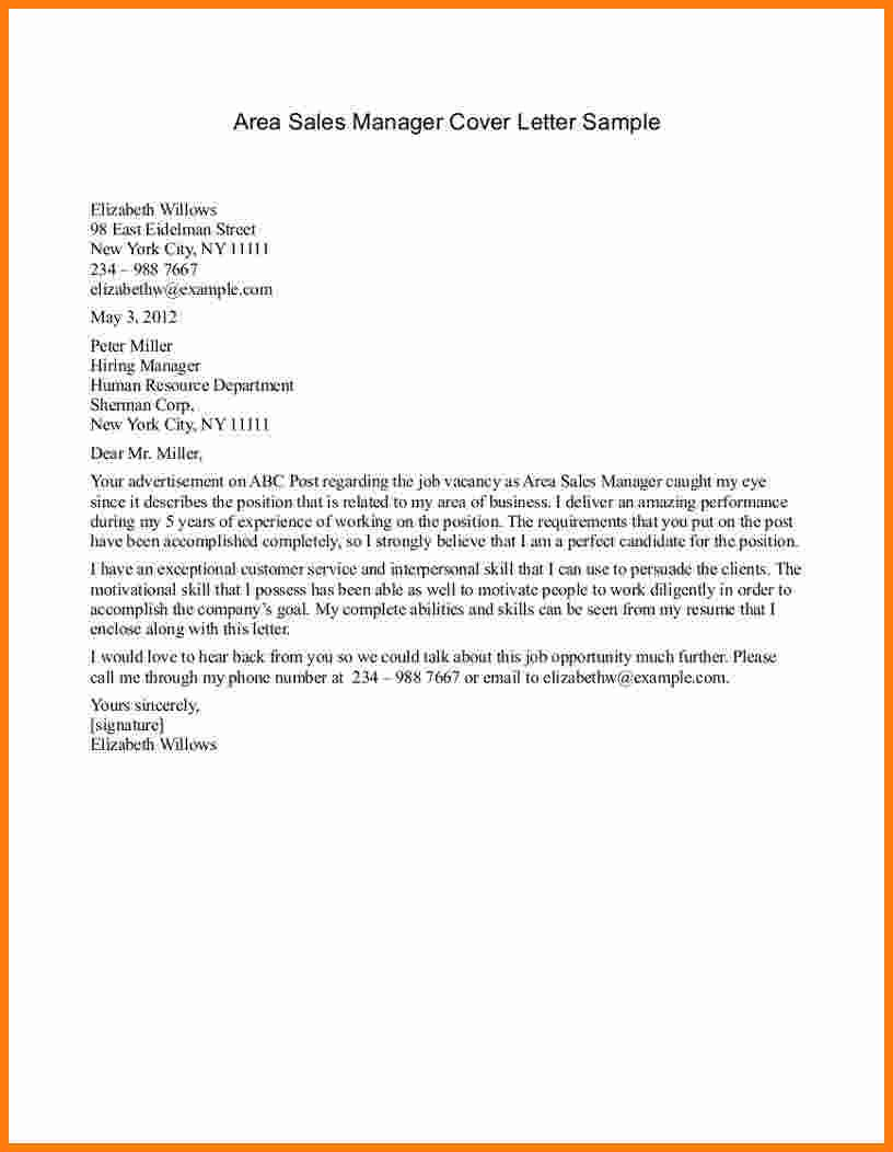 letter examples cover example sales sample administrative office ...