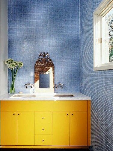 43 Bright And Colorful Bathroom Design Ideas Arredo Bagno Giallo