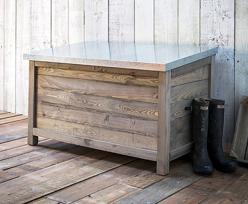 Aldsworth Outdoor Wooden Storage Chest - Large & Aldsworth Outdoor Wooden Storage Chest - Large | Gardening/Outside ...