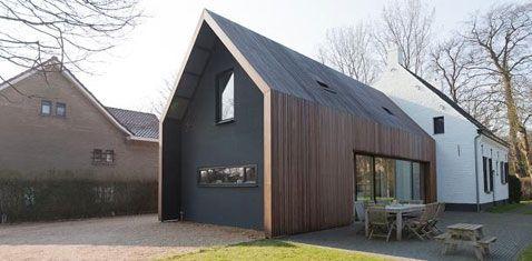 Mooie materialen en vormgeving architectuur pinterest for Modernes waldhaus