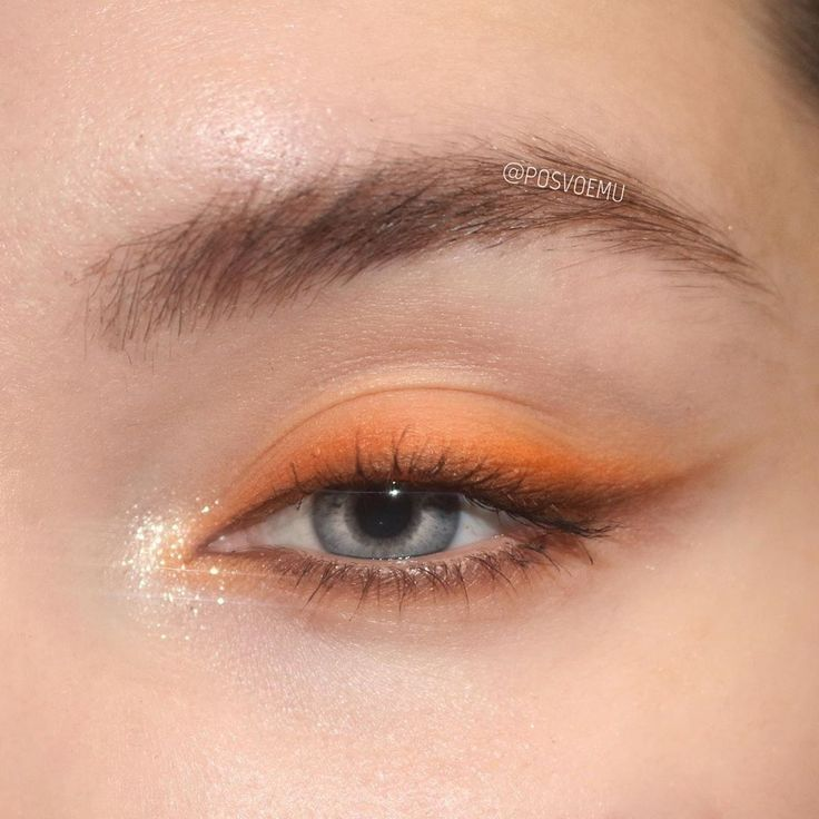 #Eye #eye makeup for brown eyes #hat #keine #KürbisgewürzThemenPalette #Makeup #Marke #Orange #veröffentlicht #Warum Orange eye make up