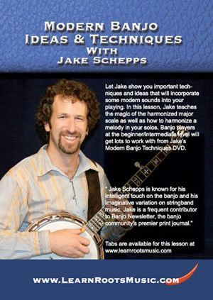Modern Banjo Ideas & Techniques with Jake Schepps (DVD)