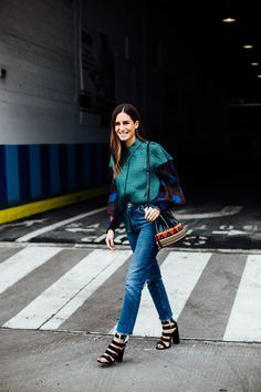 denim and layers