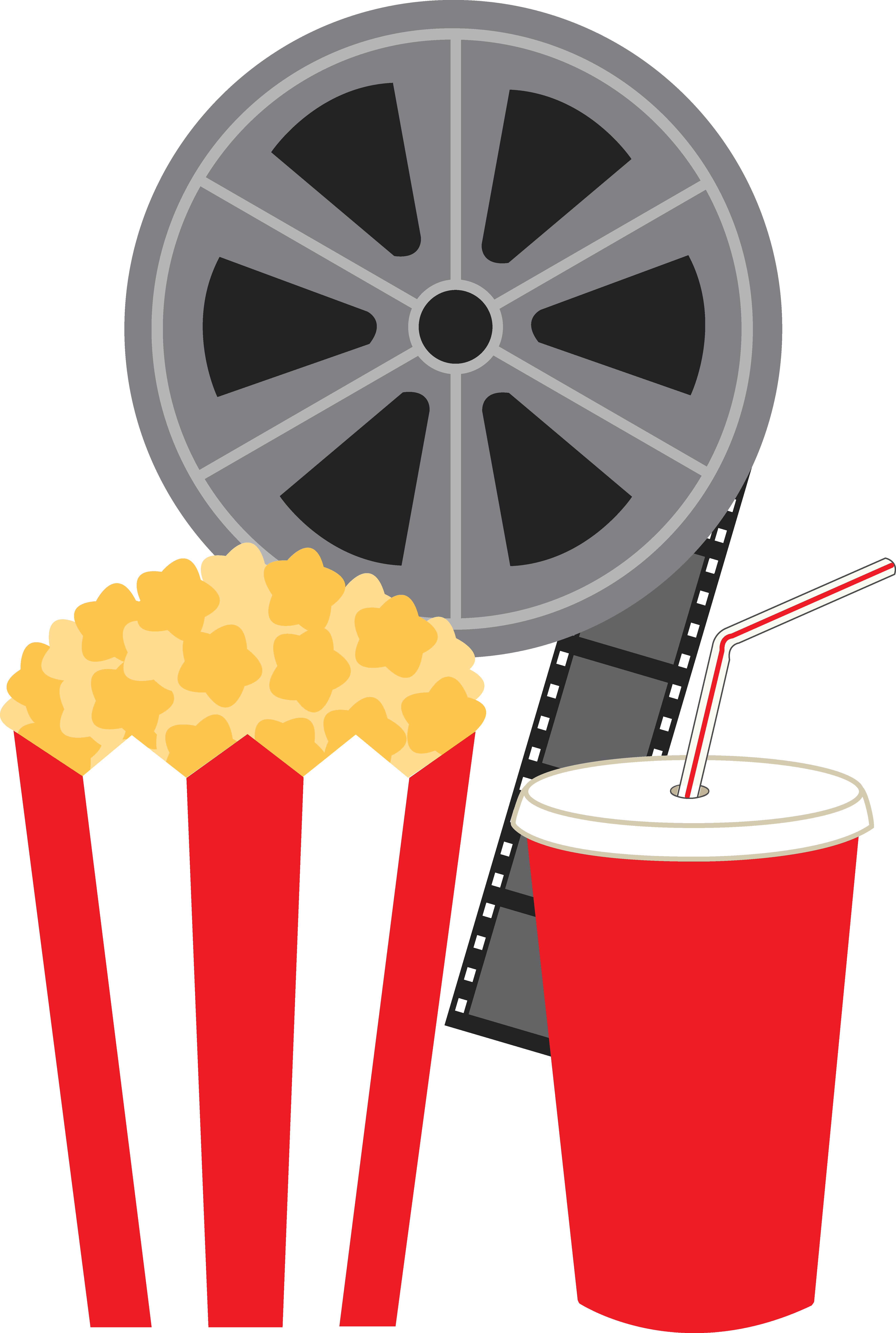 Free Clip Art (With images) Movie popcorn, Free clip art