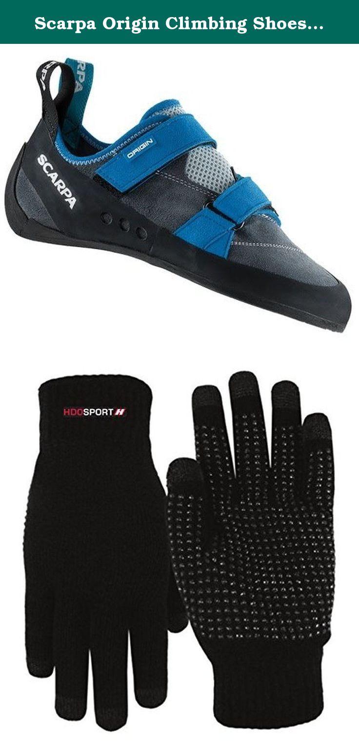 Origin Climbing Shoes & E-Tip Glove Bundle