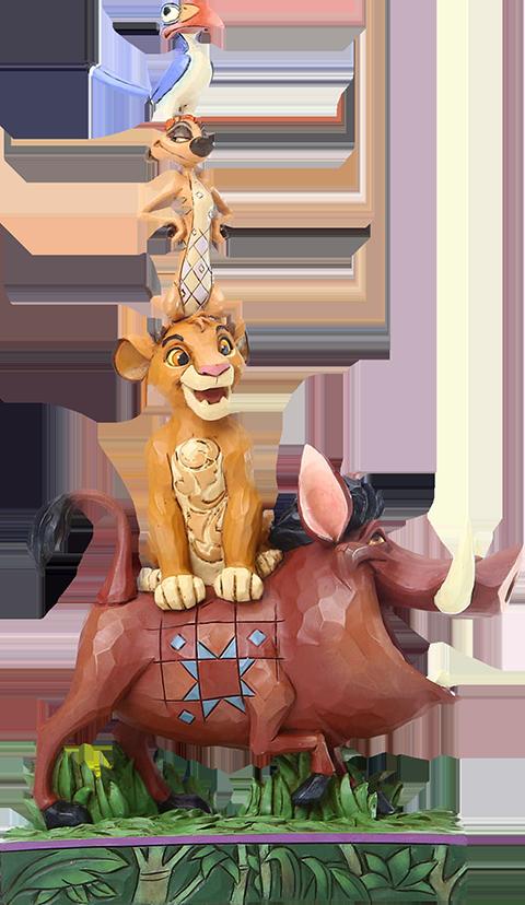Mighty King Figurine Disney Enchanting Le Roi Lion