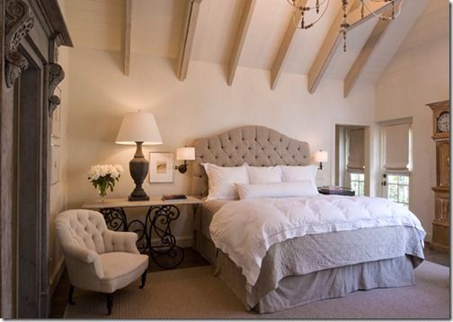 very pretty bedroom area