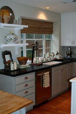 Benjamin Moore Hc 105 Rockport Grey Cabinets New Harmony Dreams