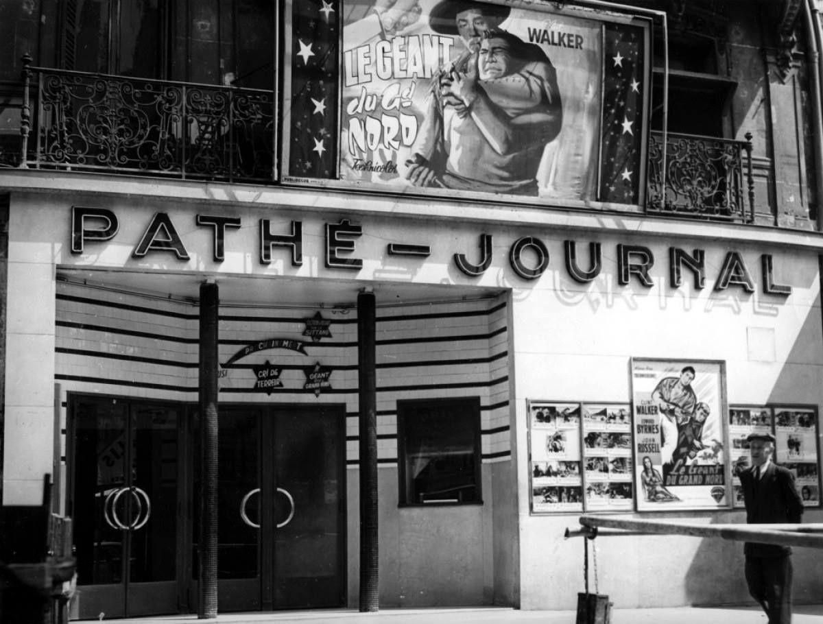 cinema pathe journal boulevard saint denis ancien saint denis une des plus anciennes salles de. Black Bedroom Furniture Sets. Home Design Ideas