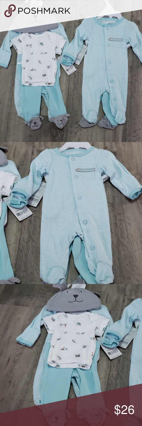 Set of Carter's Preemie Clothes • Identical sets • Both ...
