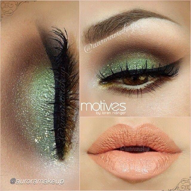 Pistachio Green Makeup Saint Patricks Day Makeup