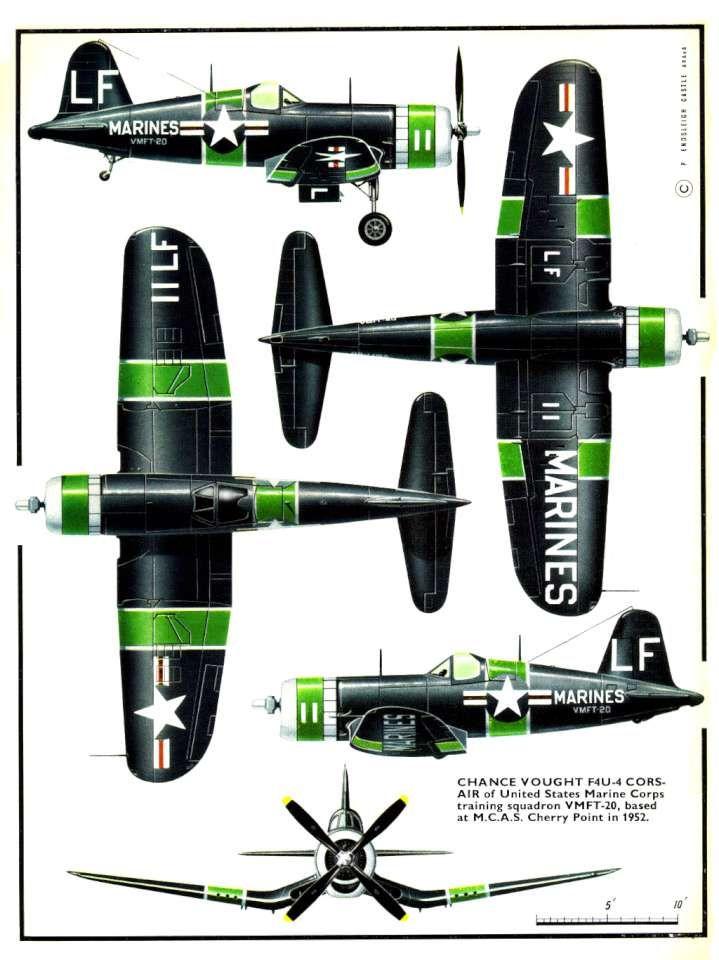 Chance Vought F4U-4 - 7 Corsair