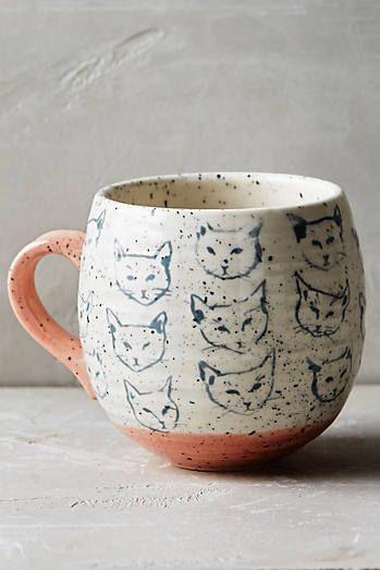 Et Chat NekoTassesamp; Porcelaine PoterieVaisselle Mugs Mug byfg6I7mvY