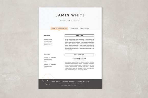 Resume Template  James  Templates Resume And James DArcy