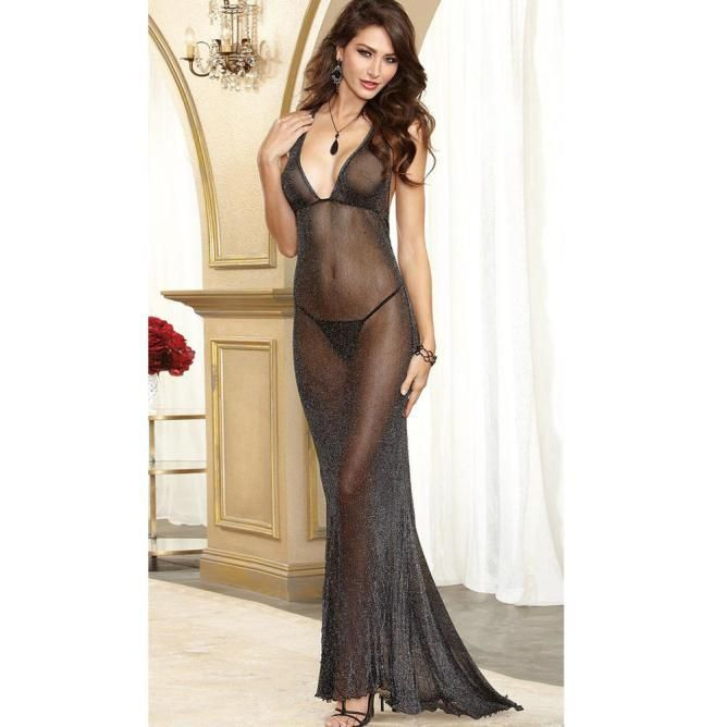 b25b5247eb7 Women Hot Sexy Lingerie Dress Babydoll Sleepwear Underwear G-String  Feature  100% brand new and high quality. Quantity  1 PC Gender  Female  Size  Free size ...