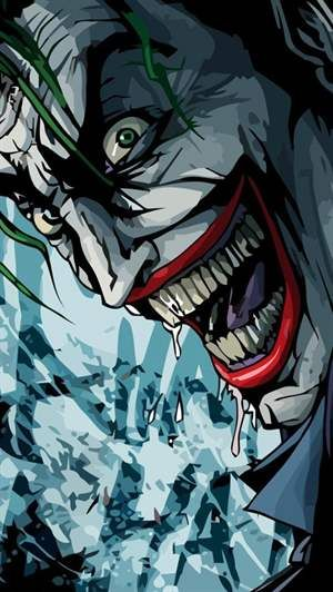The Joker Smiling IPhone 5 Wallpaper