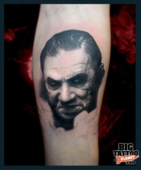 Bela Lugosi Tattoo | Bela Lugosi Tattoos | Pinterest | Tattoo
