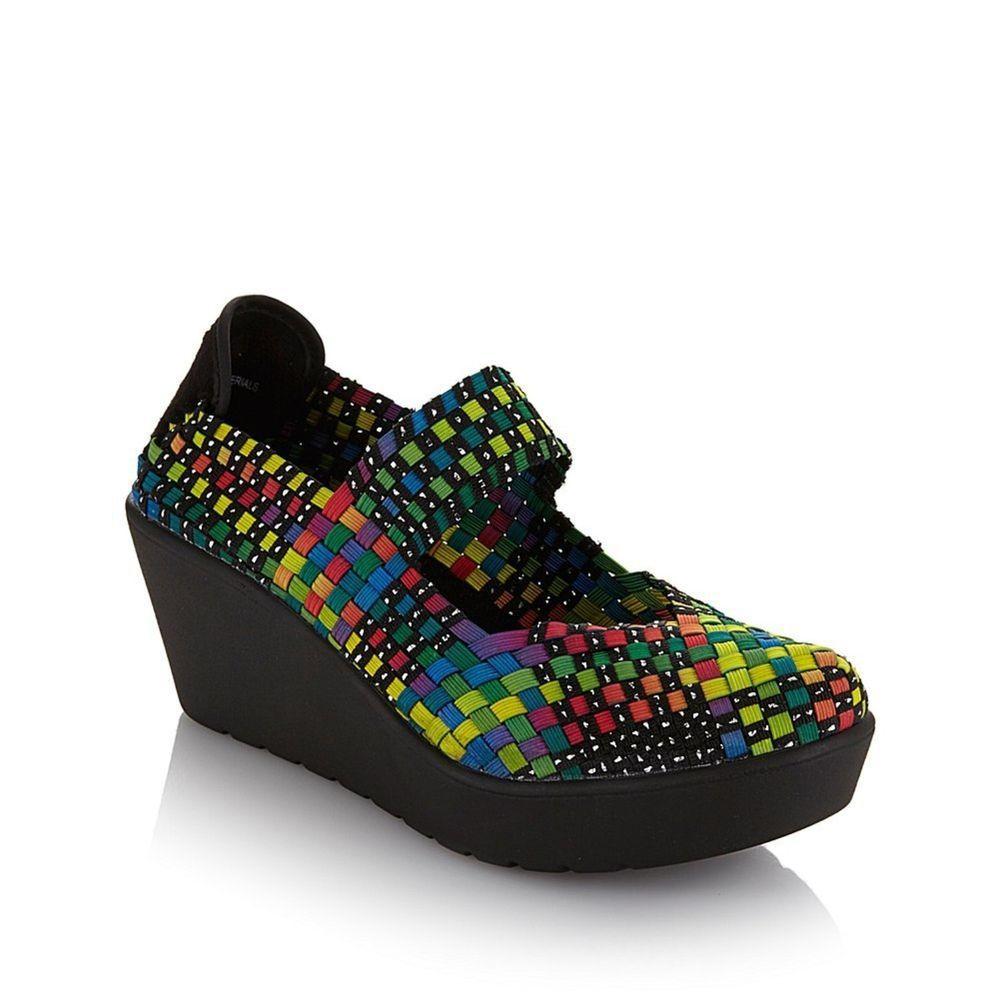 9694fda1ae070 NEW Steven By Steve Madden Womens Brice Mary Jane Shoes Rainbow Size ...