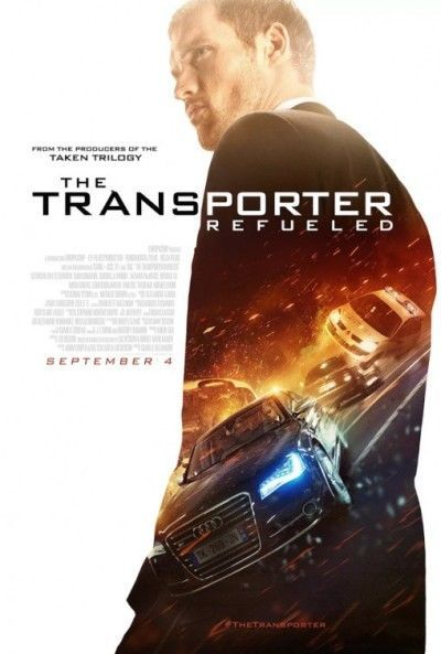 Details About Transporter Refueled 2015 Original 27x40 D S