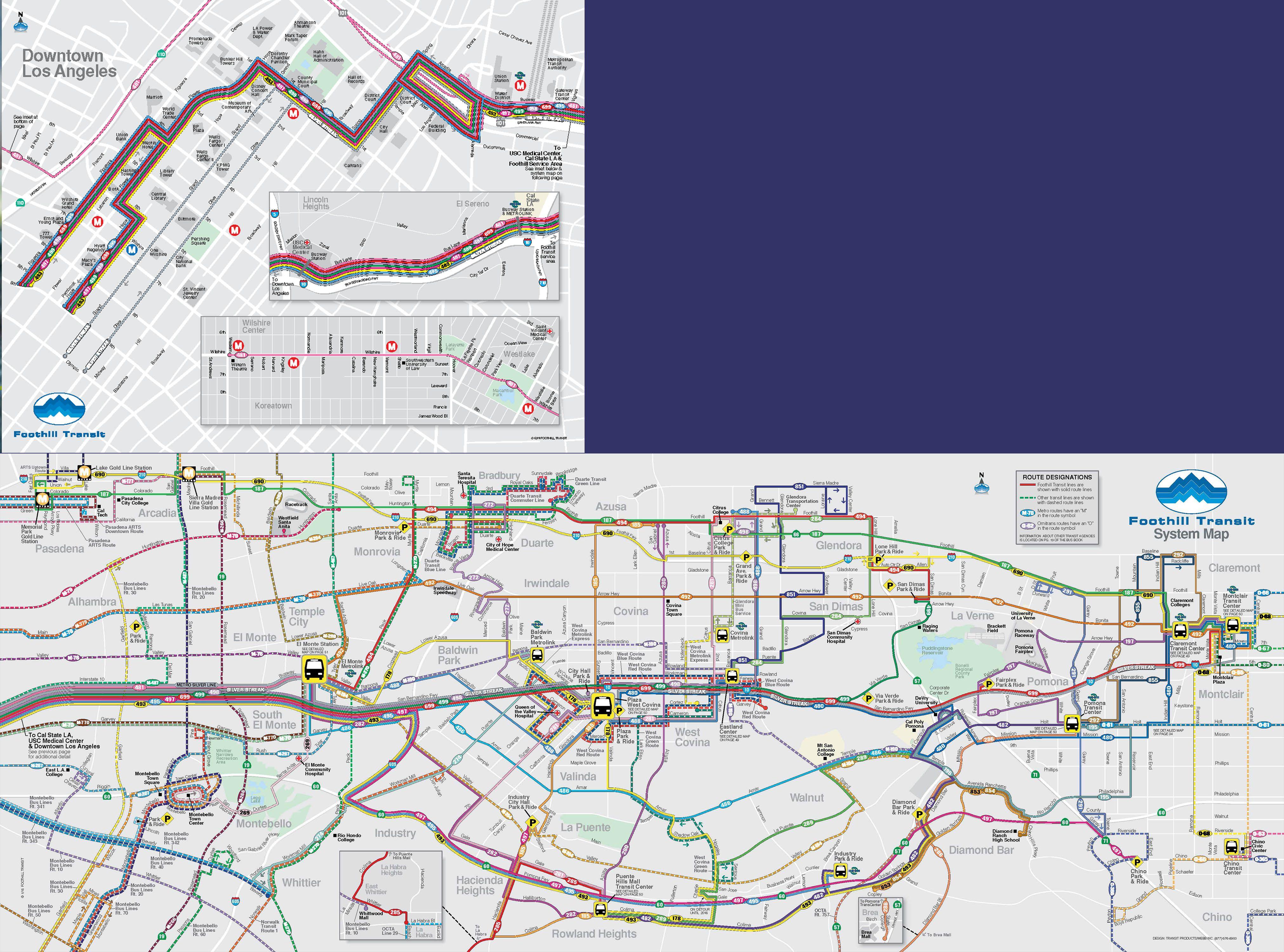 Foothill Transit provides communityoriented environmentally
