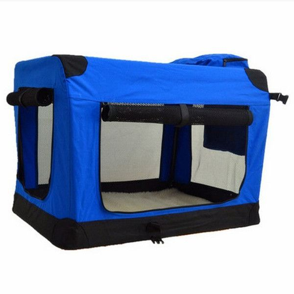 """24"""" Dog/Cat Portable Carrier Kennel for Dog Pet Soft Crate"""