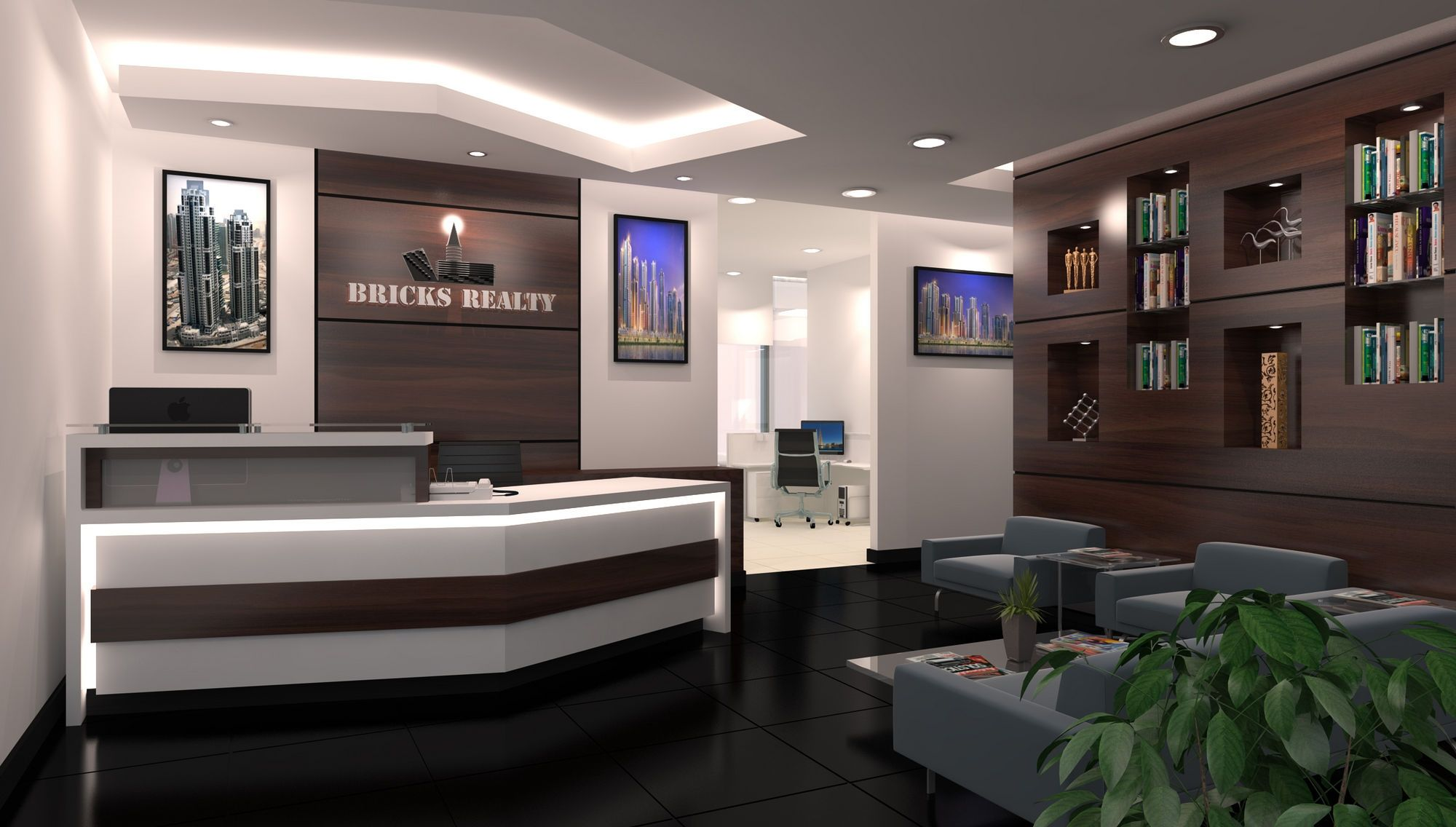 Image Result For Nautical Reception Desk Modern Office Reception