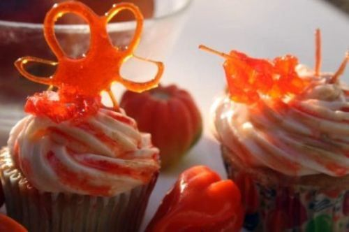 Peaches 'N Steam Cupcakes