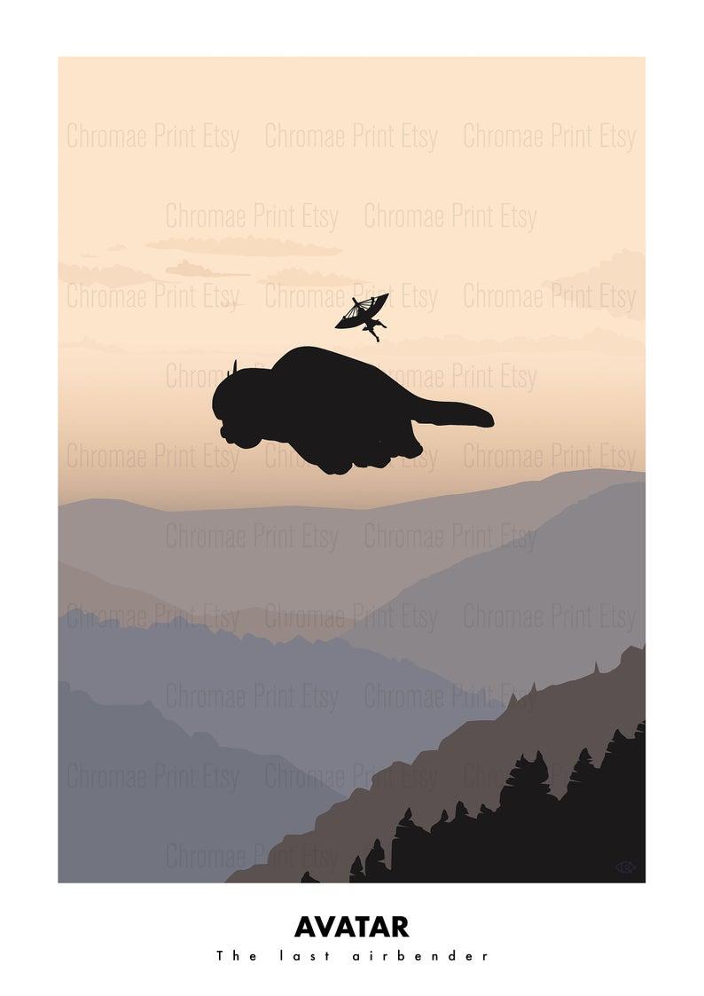 Avatar, the last airbender - minimalist poster