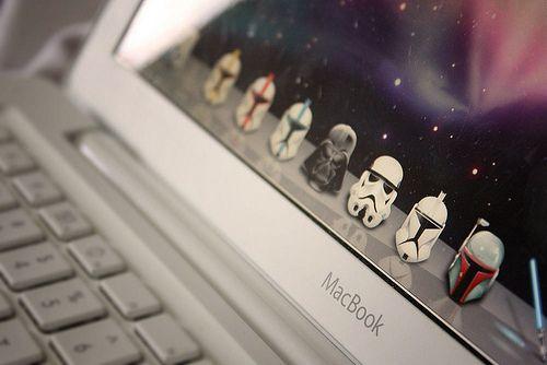 Fancy - Star Wars MacBook Invasion