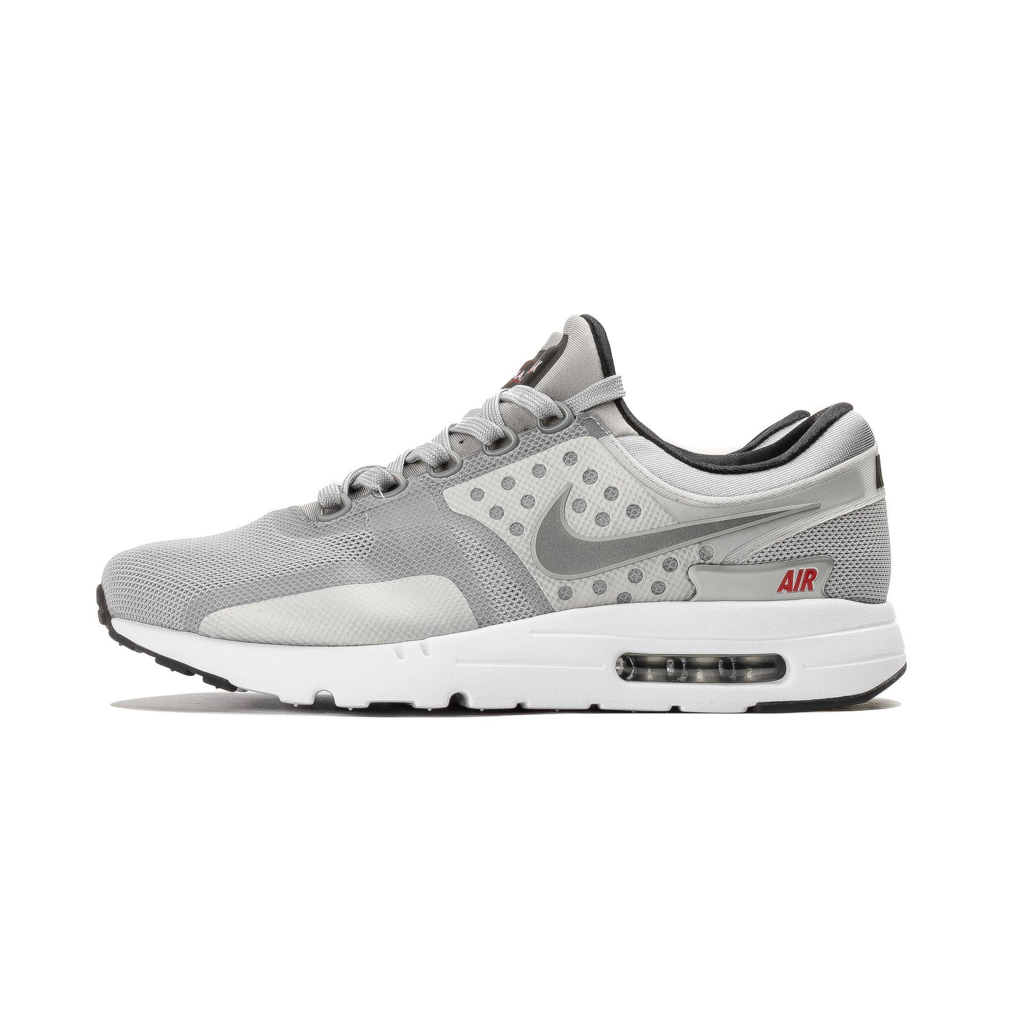 Nike Air Max Zero Mens – Air Max Zero QS Metallic Silver