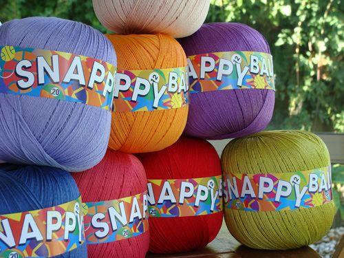 Snappy Ball Adriafil 2012 : un coton aux couleurs flashy