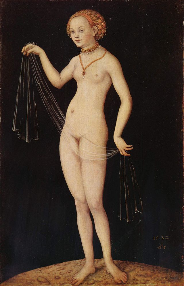 Venus Desnuda De Lucas Cranach El Viejo Usada Como Propaganda Y