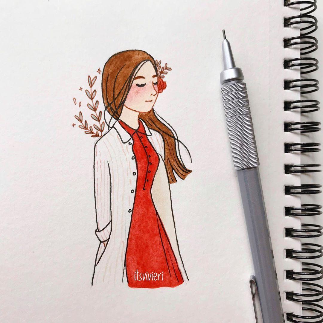 Image May Contain Drawing Cartoon Art Styles Girly Art Art Sketches