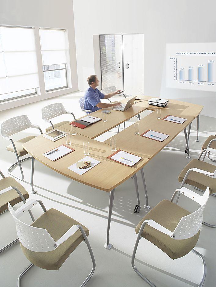 Optymis Tables De Reunion Modulaires Design Luis Jaramillo Clen Dining Room Room Design