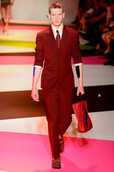 Versace Spring 2014 Men's Collection