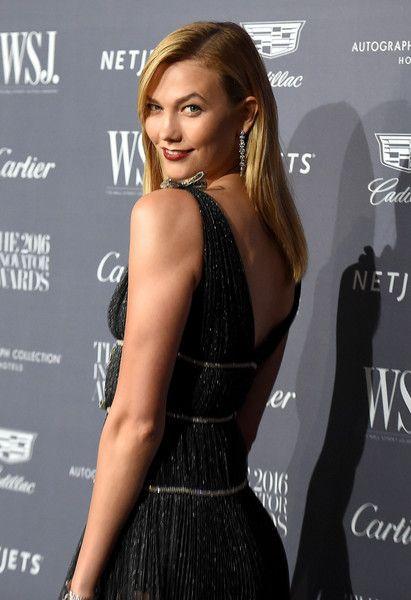 Model Karlie Kloss attends the WSJ Magazine 2016 Innovator Awards.