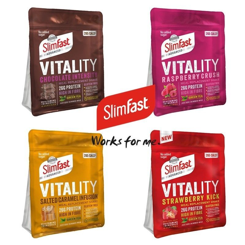 Details About Slimfast Vitality Meal Replacement Shakes Weight Loss