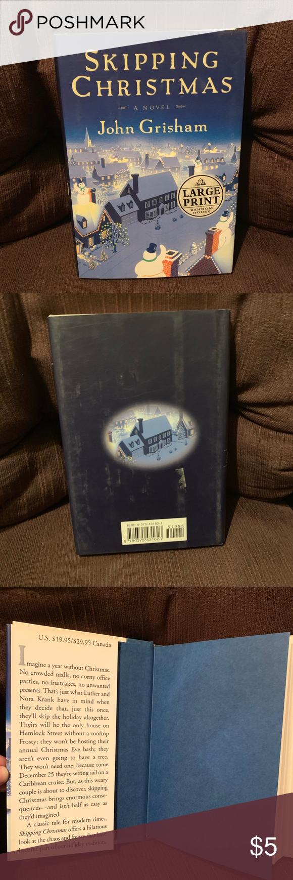 "3/$10 John Grisham ""Skipping Christmas"" 📚 (With images ..."