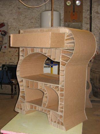 Agenda3131 348 464 carton cardboard pinterest best cardboard f - Meuble en carton design ...