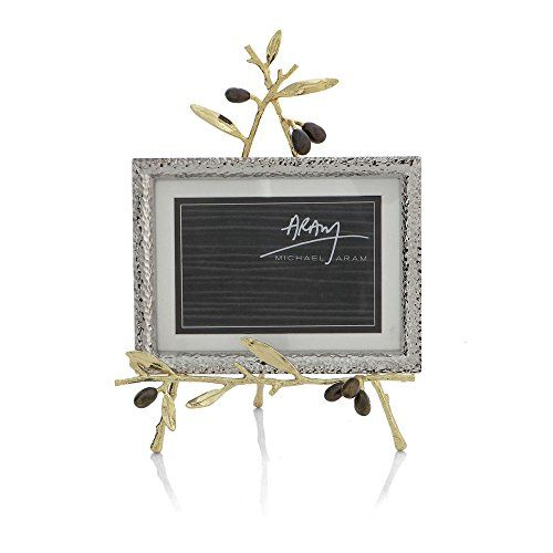 Michael Aram Olive Branch Gold Convertible Easel Frame ** See this ...