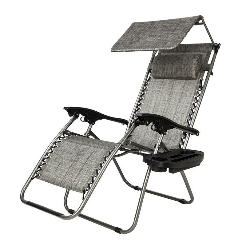 Bluffton Reclining Folding Zero Gravity Chair In 2020 Lounge Chair Outdoor Outdoor Chairs Zero Gravity Chair Outdoor